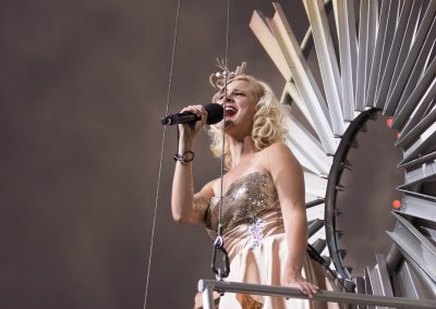 Annika in the Grandstand Show