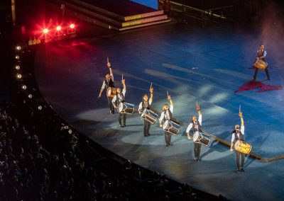 Malambo Gauchos in the Calgary Stampede Grandstand show | photo © Joni Millar