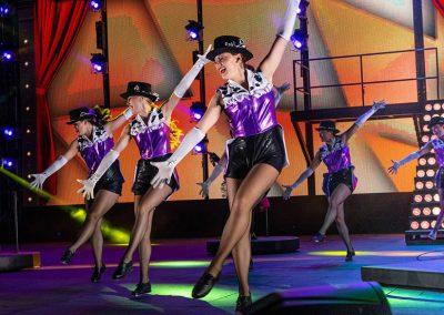 tap dancing in grandstand show