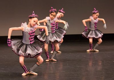 Junior dancers perform ©JMillar Tilt Creative performance photography