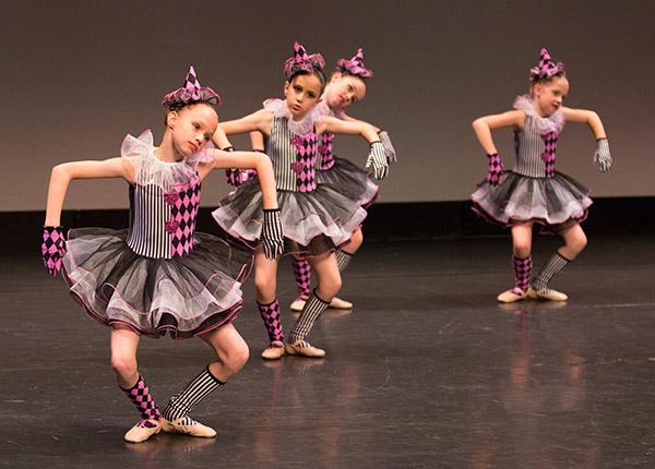 Junior dancers perform ©JMillar Tilt Creative performance photography