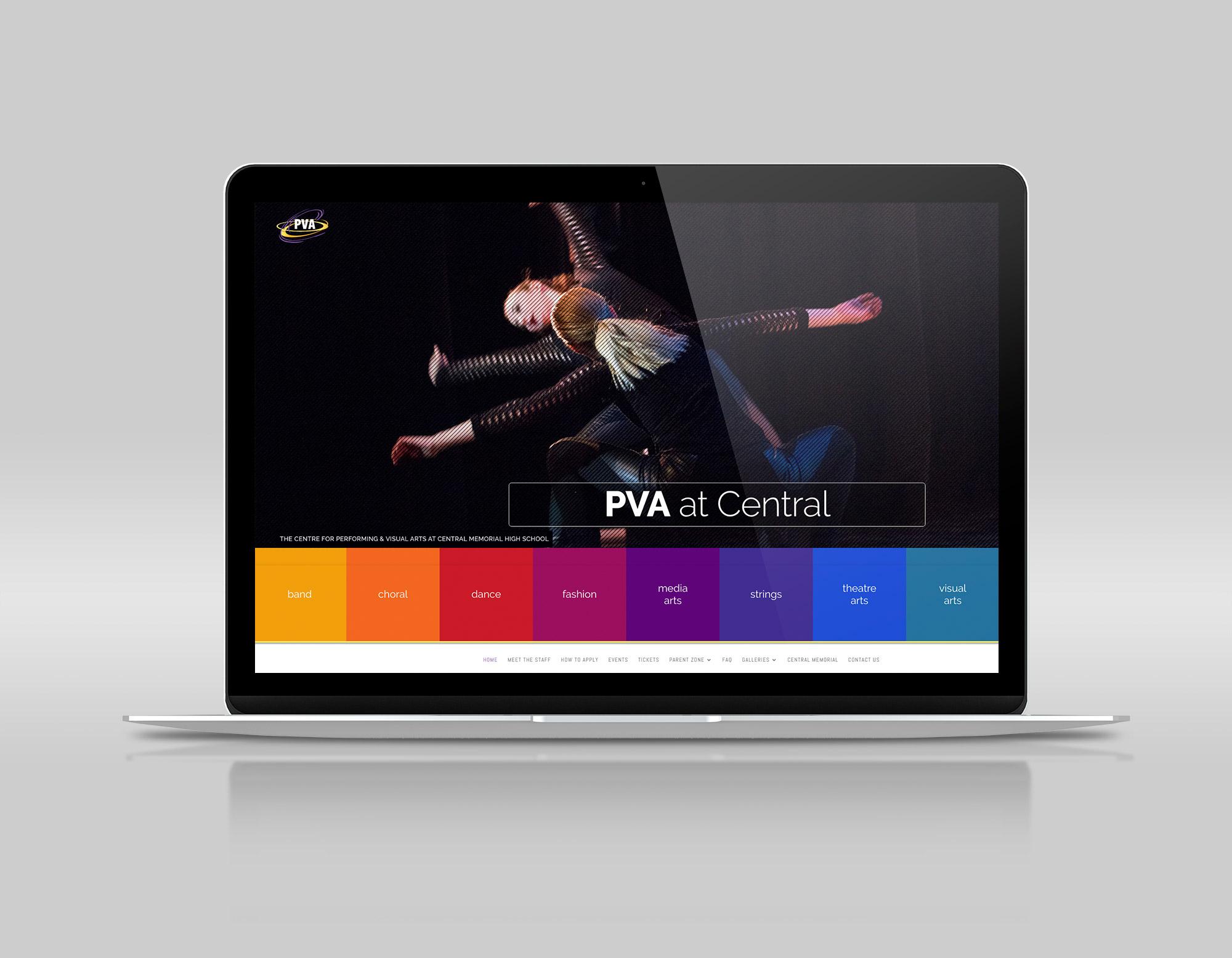 PVA Central website
