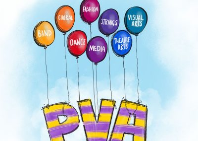 illustration for the PVA program