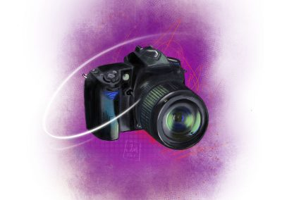 camera illustration | JoniMillar/Tilt Creative