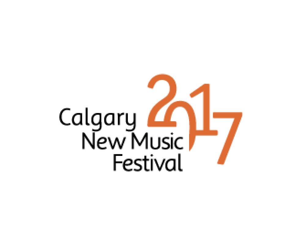 Calgary New Music Festival logo